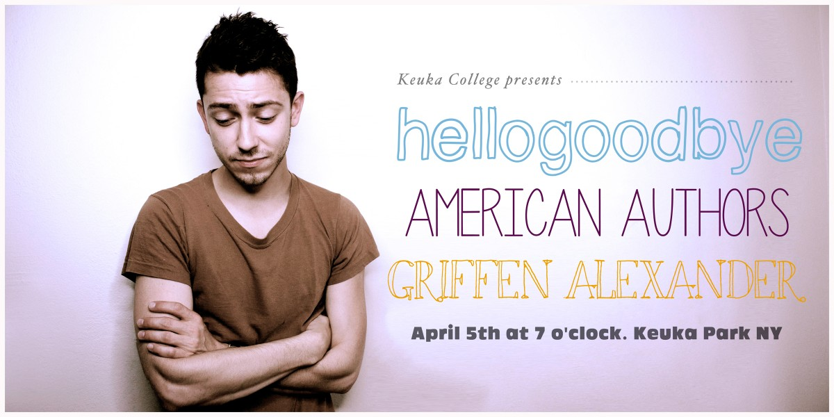 hellogoodbye with giffen alexander and american authors